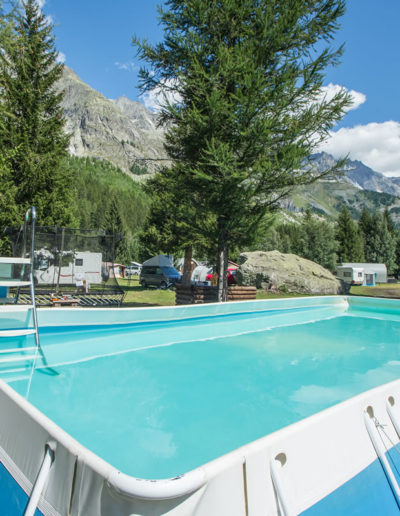 Camping Monte Bianco La Sorgente - Courmayeur
